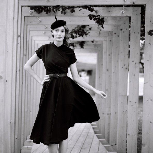 Hermína šaty které sluší každé ženě, vprodeji