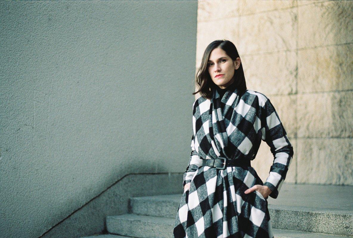 Podzimní Dovima kabáto/šaty vprodeji vshowroomu vrůzných barvách
